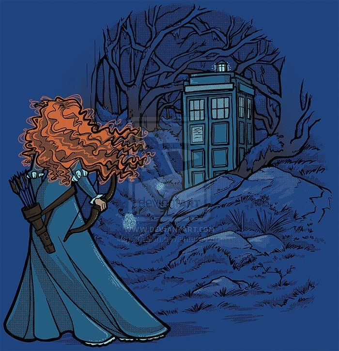 princesas-disney-doctor-who-9