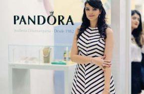 Braceletes & Charms da Pandora, Look do dia: Vestido listrado