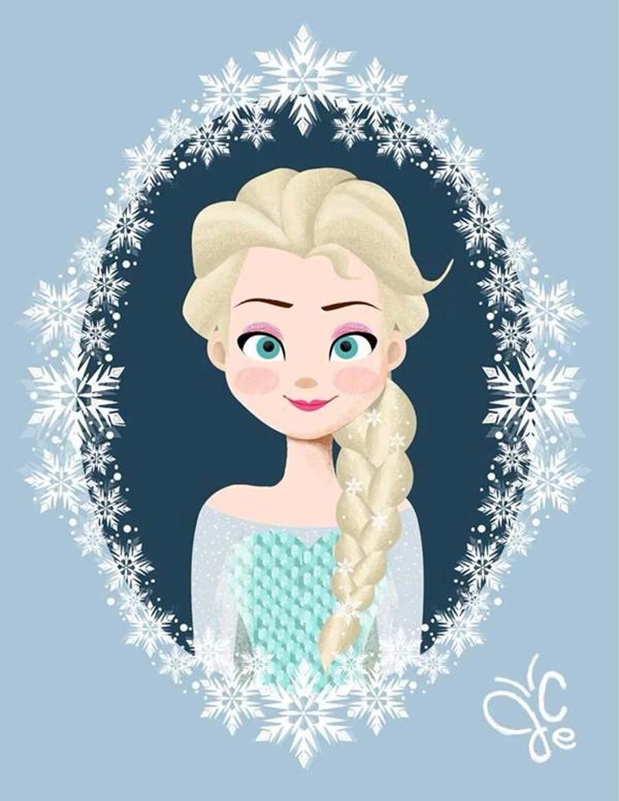 disney-princesasemmolduras-elsa