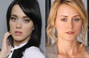 Parece mas não é: Katy Perry e Taylor Schilling