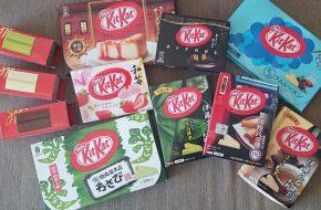 Os sabores diferentes de Kit Kat do Japão