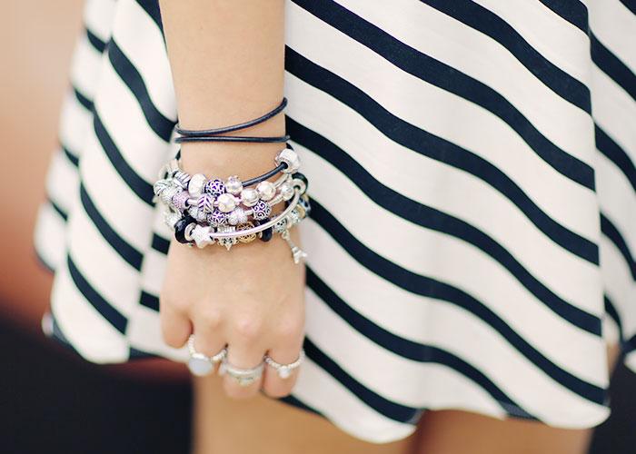 pandora dá pra comprar online braceletes com charms pandora