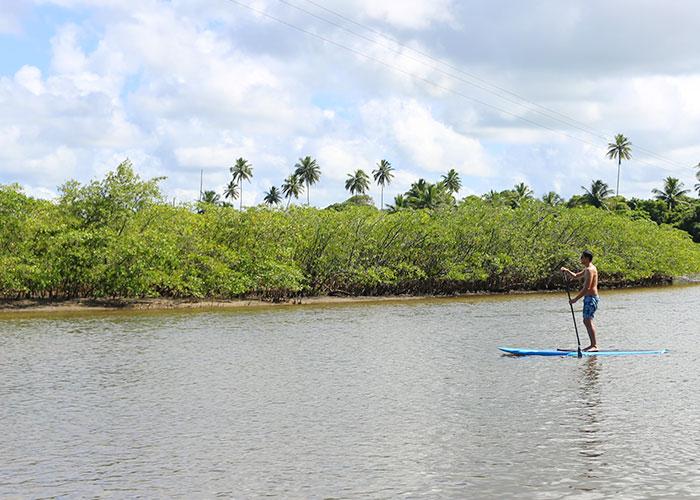 Dani no stand up paddle