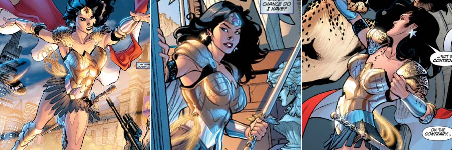 Donna Troy como Wonder Woman