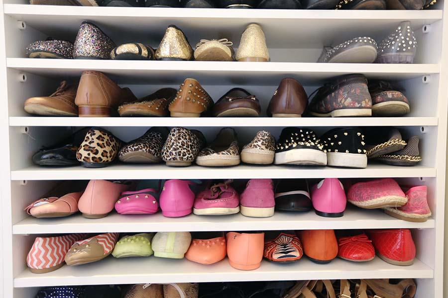 740124f7b Organização do closet: Sapateira sob medida - Just Lia | Por Lia Camargo