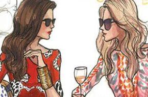 As ilustrações de moda de Inslee Haynes