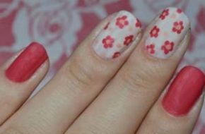 Tutorial: Nail art de flores