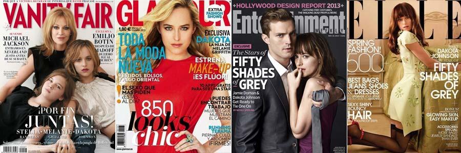 Em algumas capas de revista