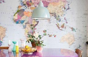 Decoração: Mapas