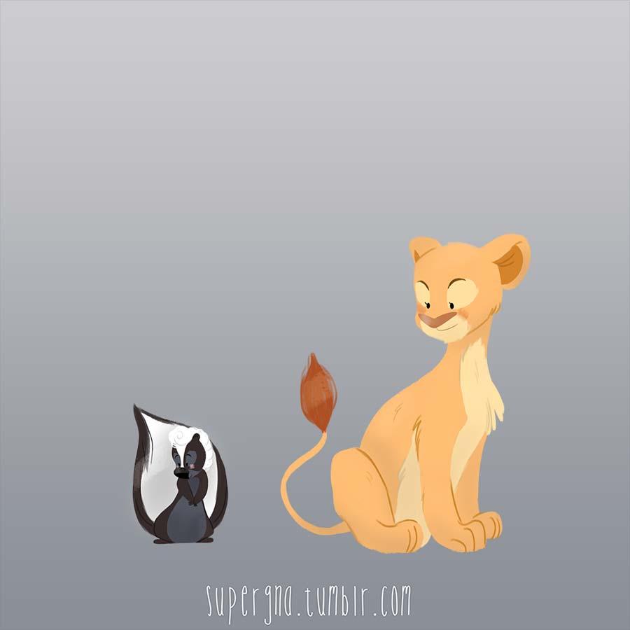 ilustracoesdisney-supergna-princesas-fleur-nala