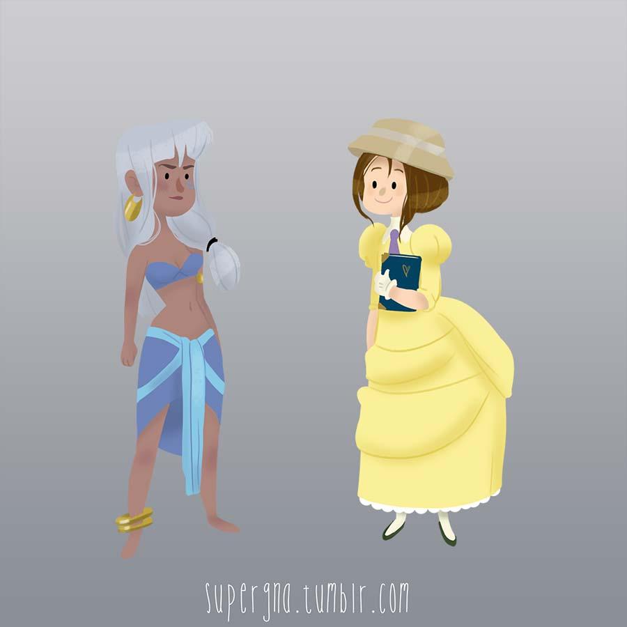ilustracoesdisney-supergna-princesas-kida-jane