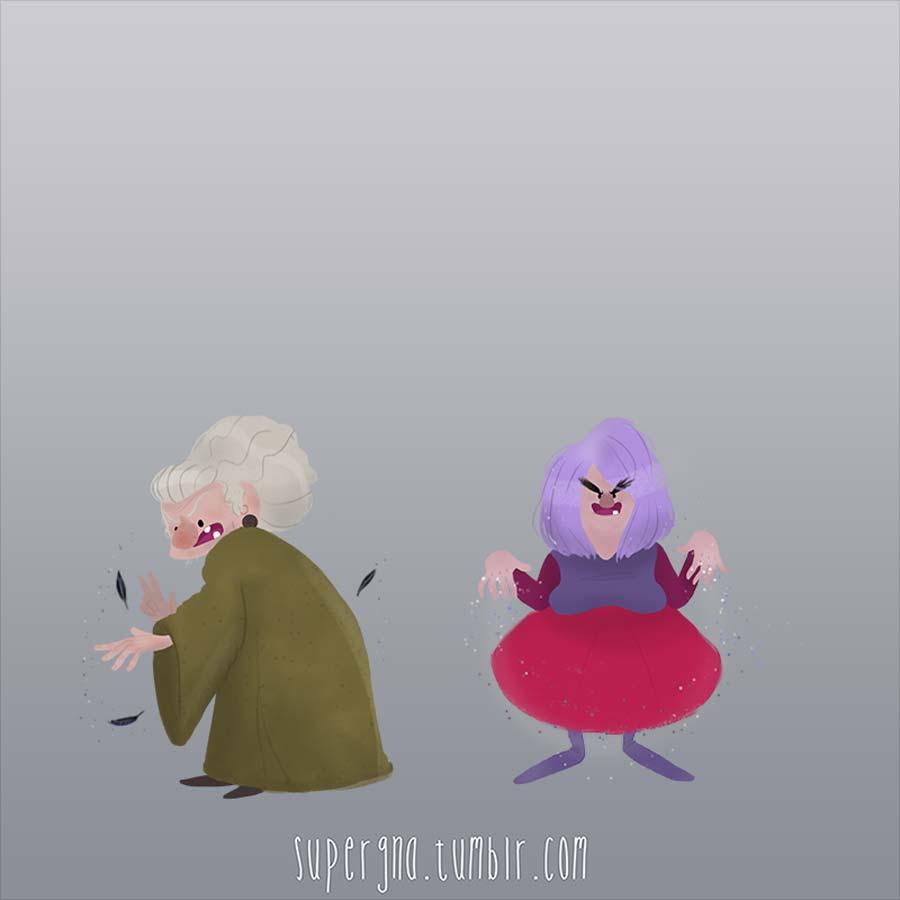 ilustracoesdisney-viloes-bruxa-madamemim