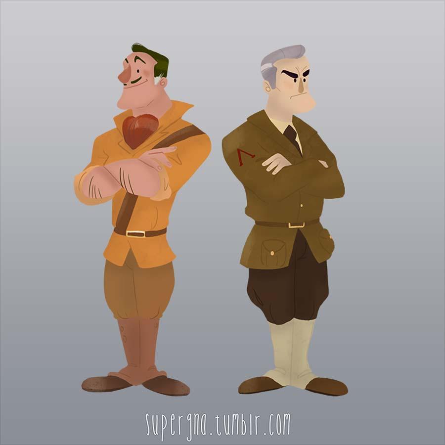 ilustracoesdisney-viloes-clayton-lyle