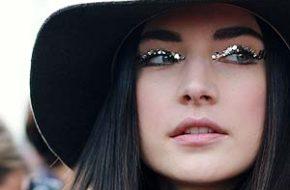 Tendência: Maquiagem com glitter