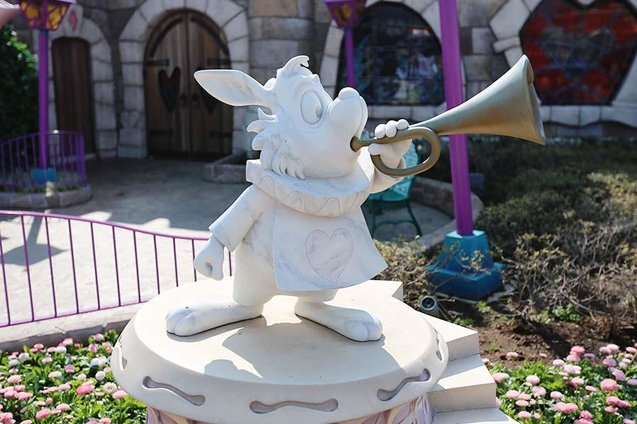 Estátua do Coelho Branco