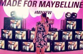 Em Nova York com Maybelline NY