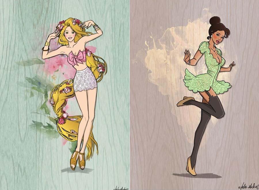 disney-princesasmodernas-rapunzel-tiana