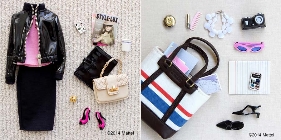 "Fashion set pra decidir o Look do Dia e ""what's in my bag"""