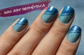 Tutorial: Nail art geométrica