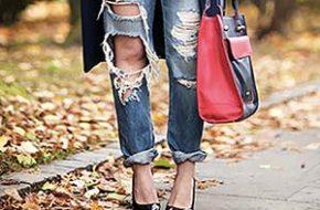 Tendência: Jeans super rasgado