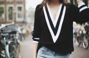 Tendência: Suéter Rag & Bone v-neck