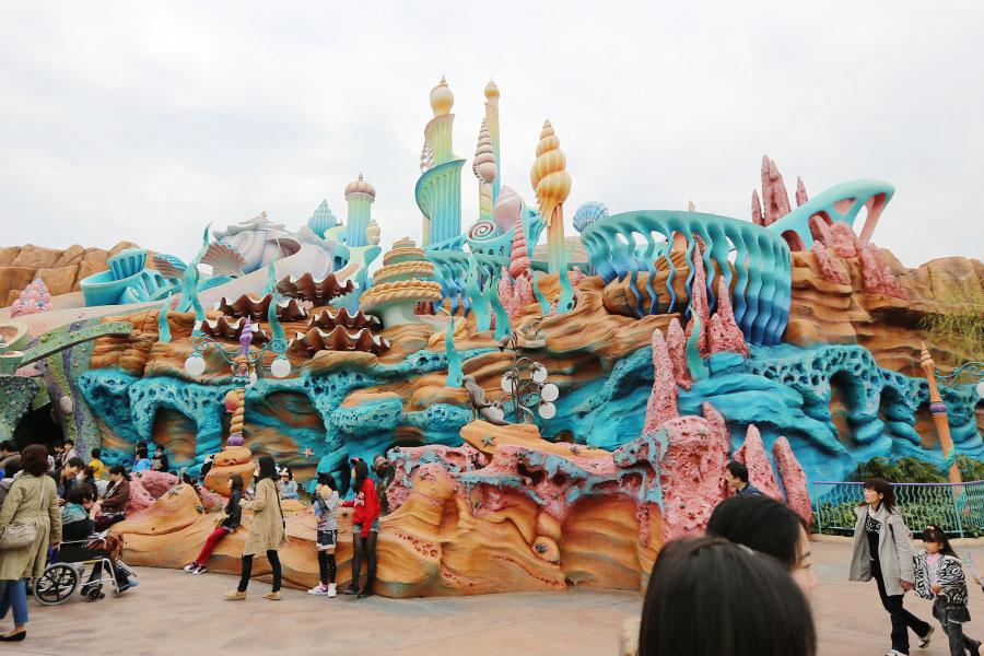 Reino de Tritão em Mermaid Lagoon