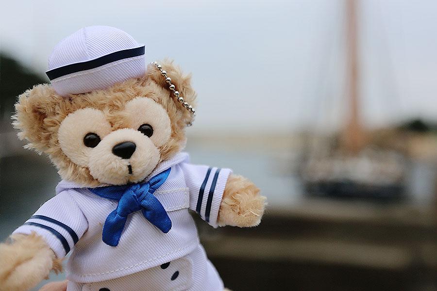 Chaveirinho de Duffy marinheiro que eu comprei