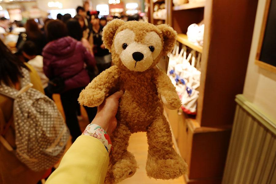 """Você compra o Duffy """"peladinho"""" e as roupas separadamente, igual no Build a Bear"""