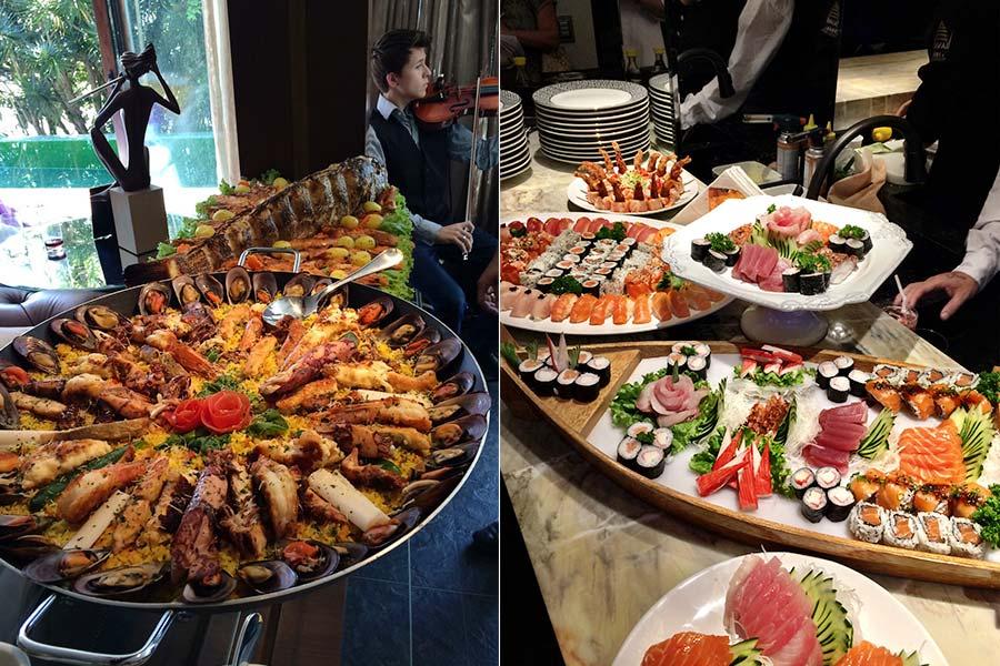#teampaella ou #sushiwayoflife?
