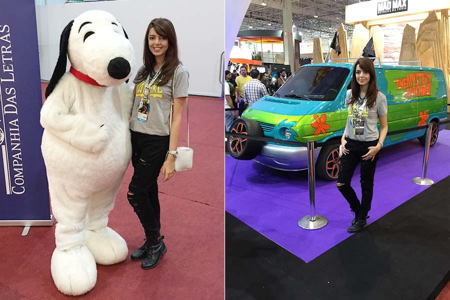 Snoopy fofo e Máquina do Mistério de Scooby-Doo!