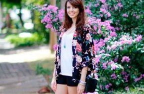 Look do dia: Short e quimono