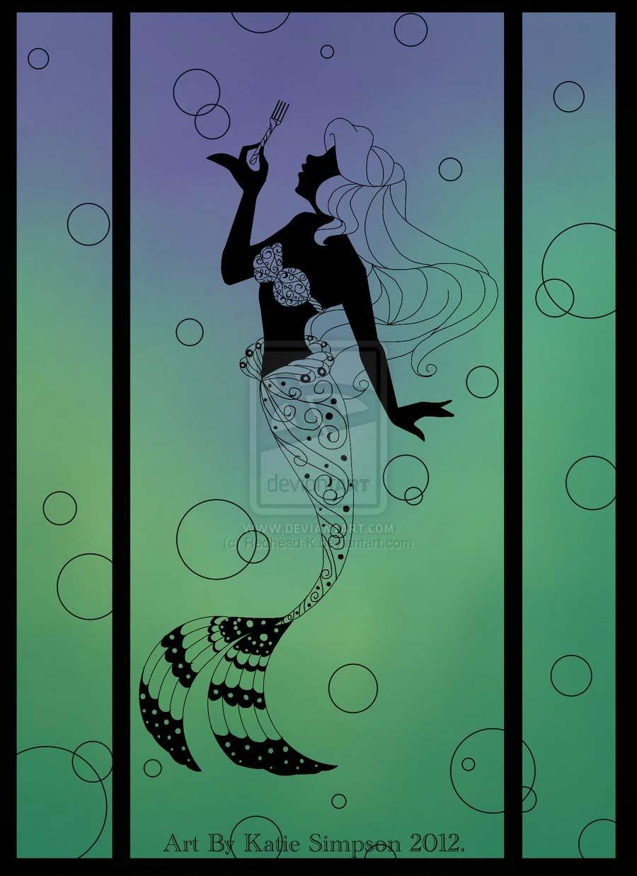 disney-ilustracoes-silhuetas-ariel