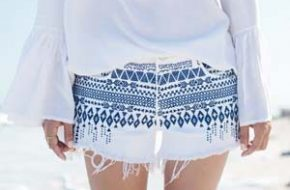 Como usar: Short estampado