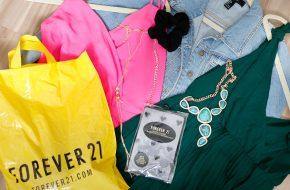 Compras na Forever 21 do Brasil
