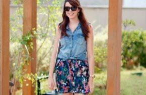 Look do dia: Jeans e flores