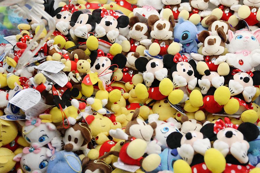 Máquina de bichinhos da Disney