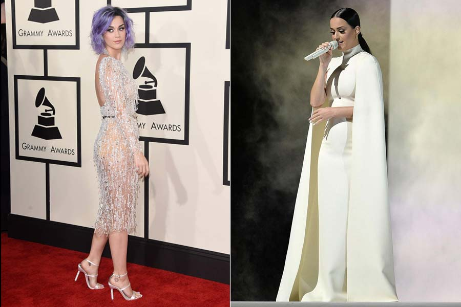 Grammy 2015 = 1 noite 2 cabelos!
