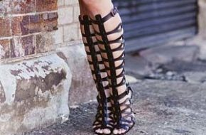 Tendência: Sandália gladiadora