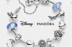 Os charms das Princesas Disney para Pandora