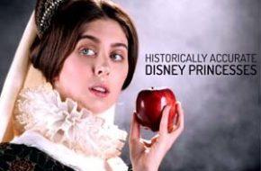 Se as Princesas Disney estivessem de acordo com a História