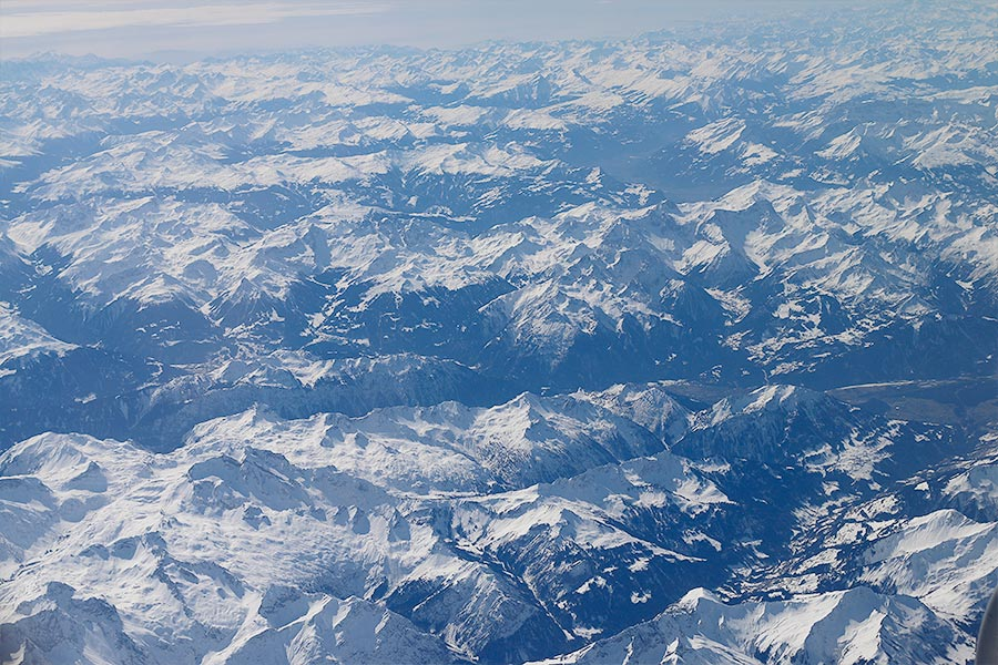 Sobrevoando Zurique