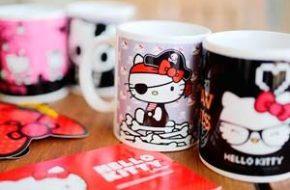 Compras da Hello Kitty – Chocolates, canecas e acessórios para gatos