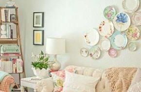 Decoração: Pratos na parede