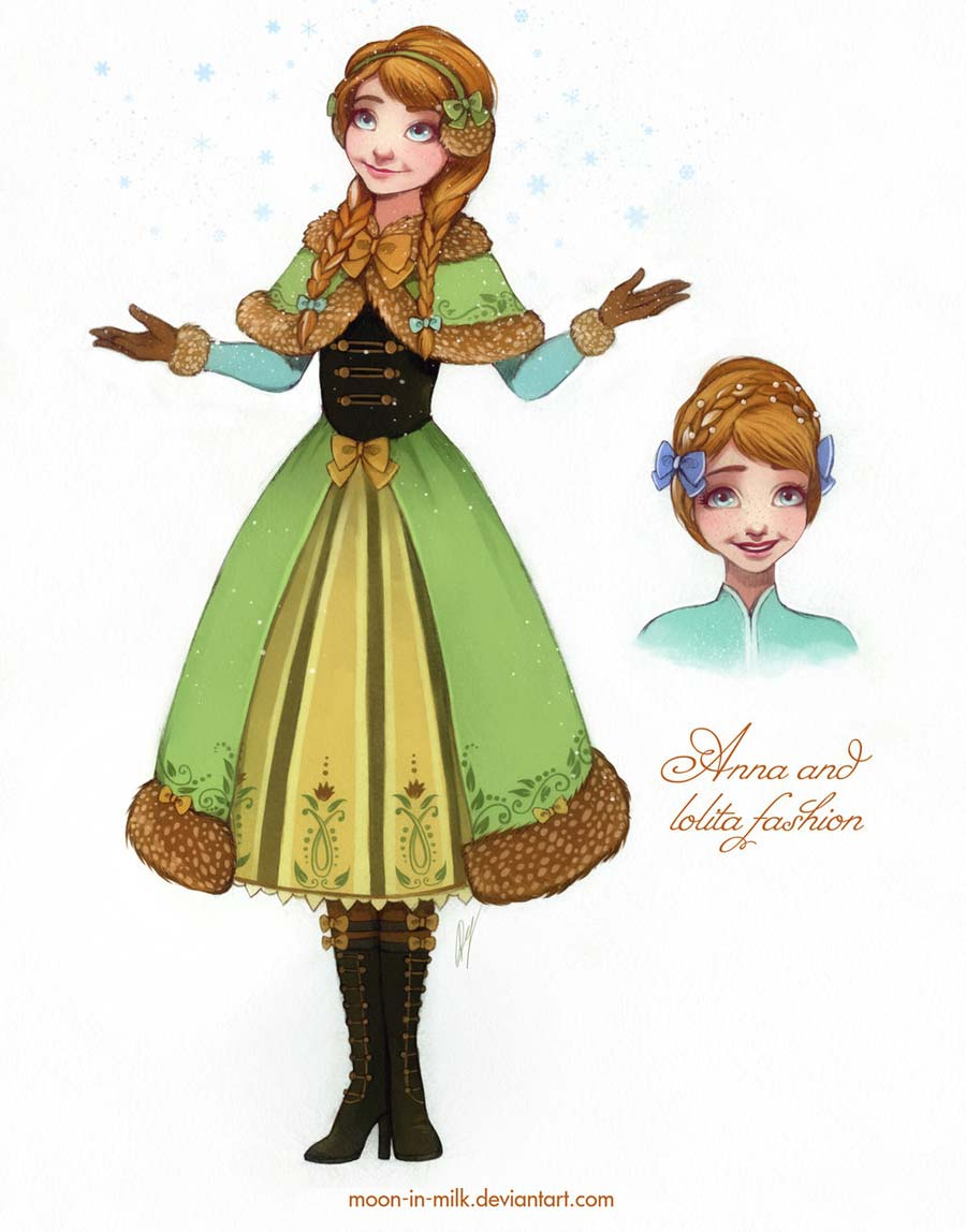 disney-ilustracoes-lolitas-anna