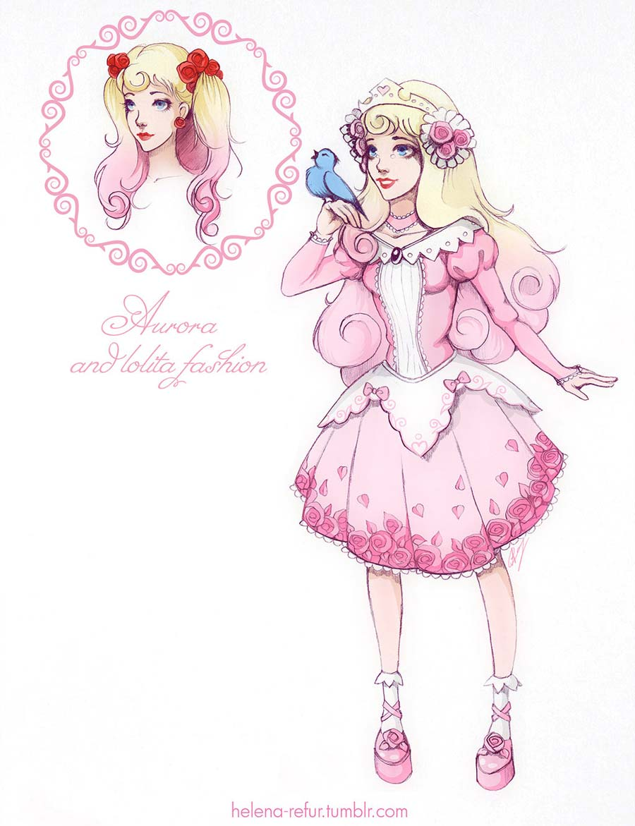 disney-ilustracoes-lolitas-aurora