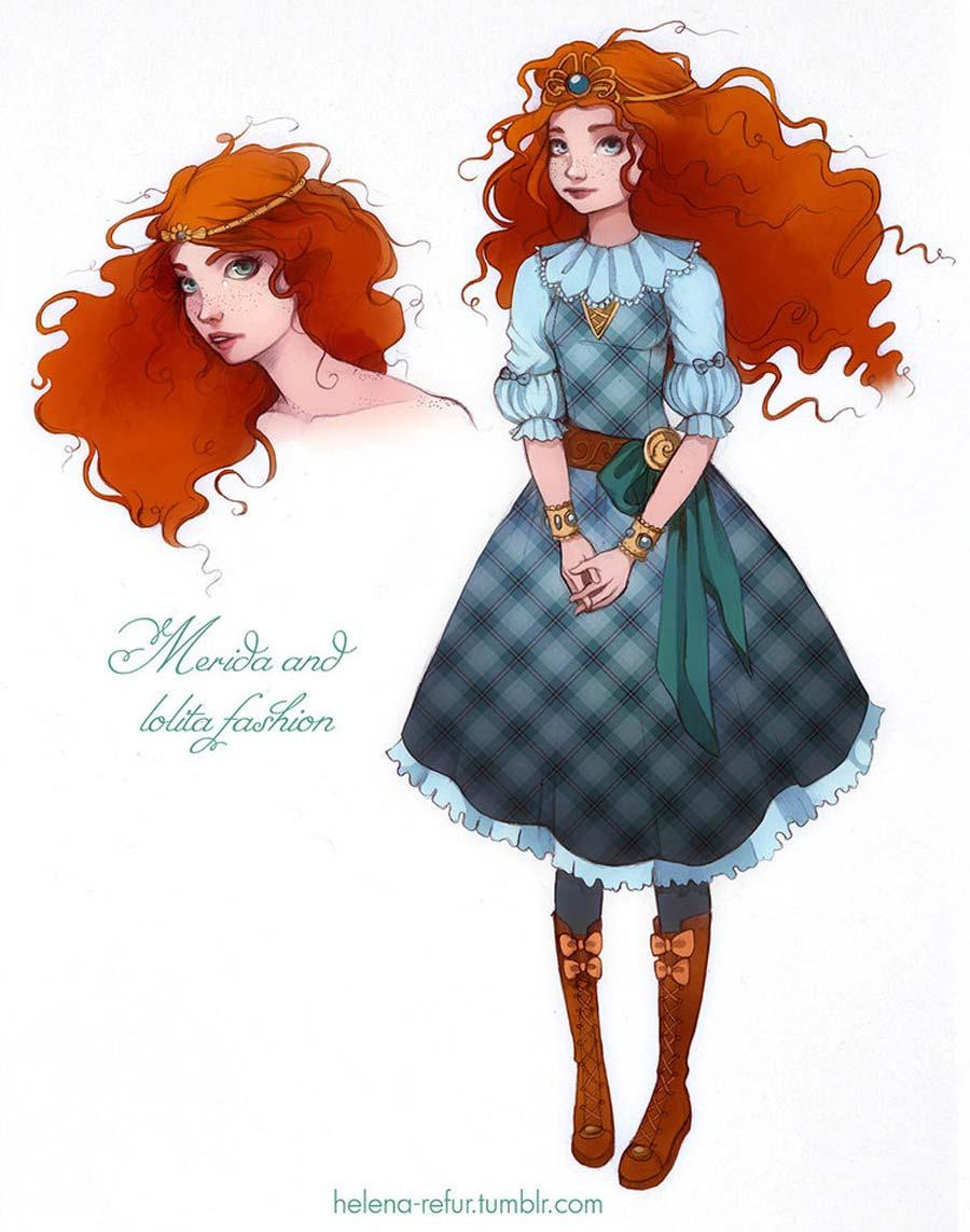 disney-ilustracoes-lolitas-merida