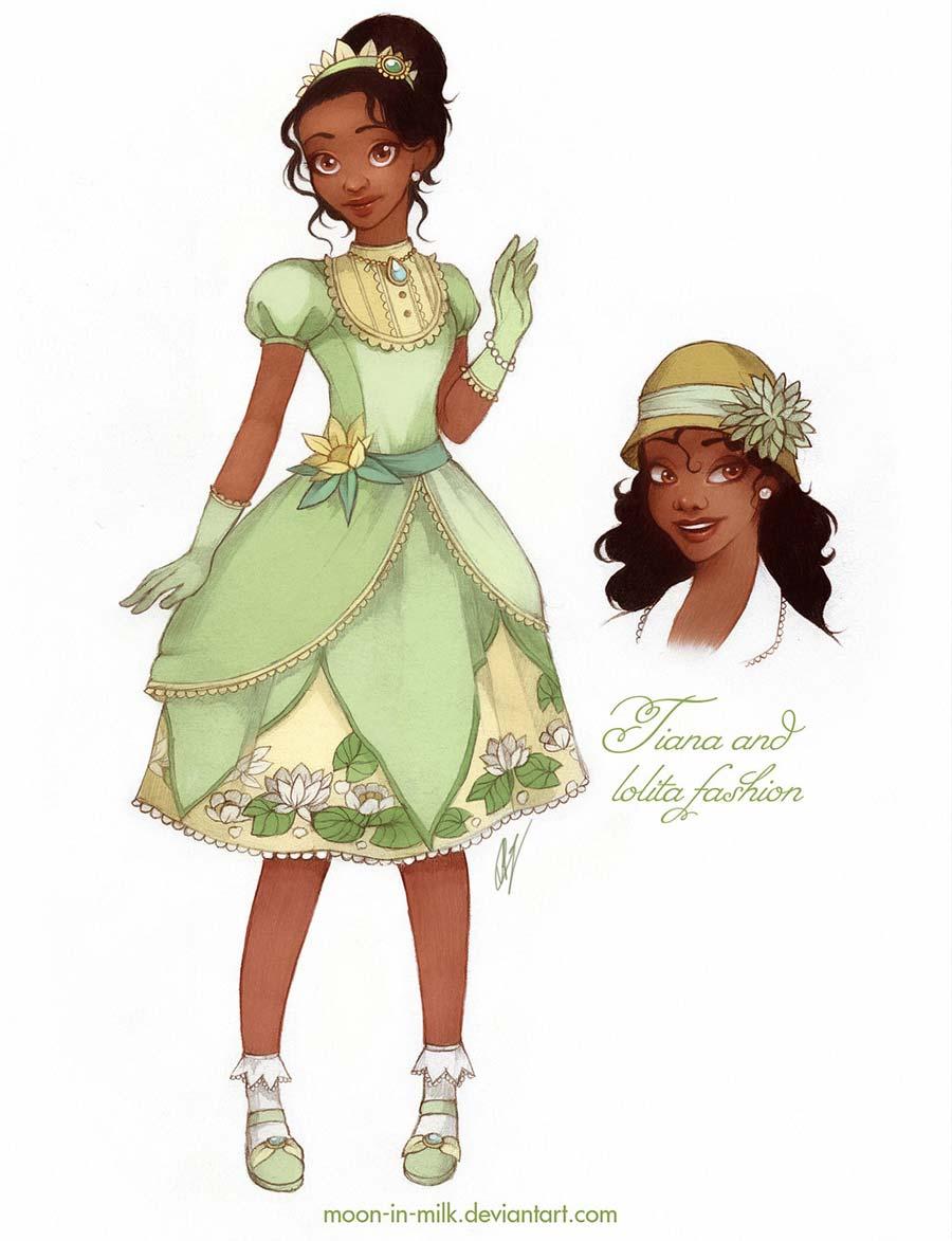disney-ilustracoes-lolitas-tiana