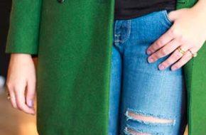 4 jeitos de usar: Casaco verde