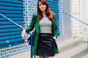 Look do dia: Cinza e verde