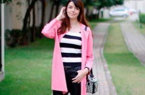 Look do dia: Casaco rosa
